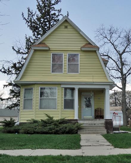 Yellow Houses  Always Backroads