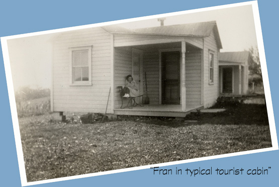 photo of tourist cabin 1930s