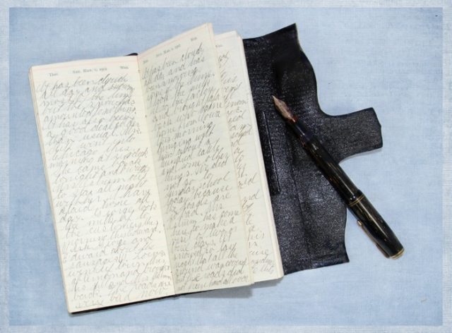 Diary page for 03-01-1902