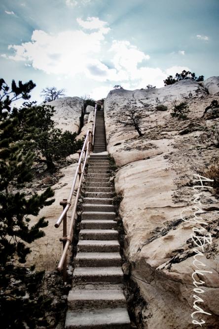 el morro stairway