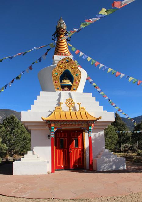 stupa close