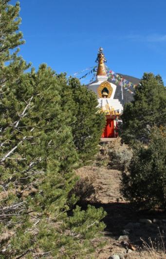 stupa distant