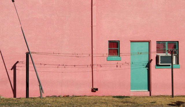 pink clothesline