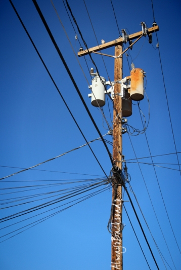 pole wires