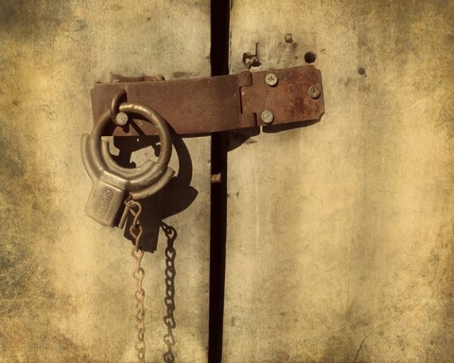 round padlock 1