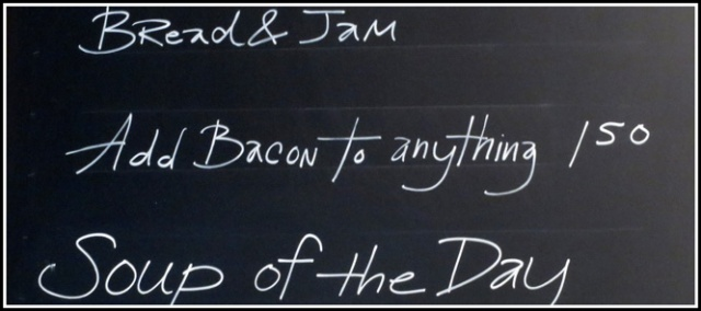 bacon motto