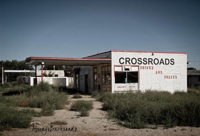 crossroads tumbleweeds