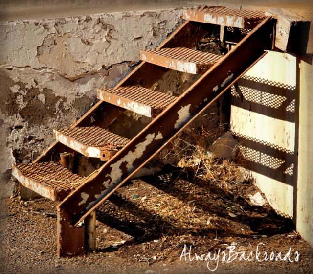 mesh steps