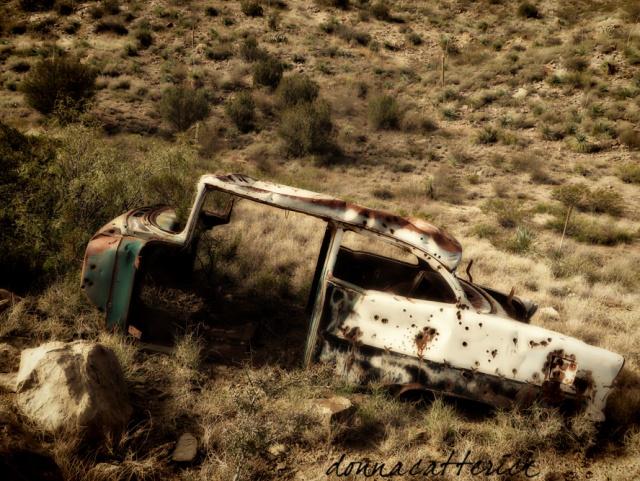 rusty car 1