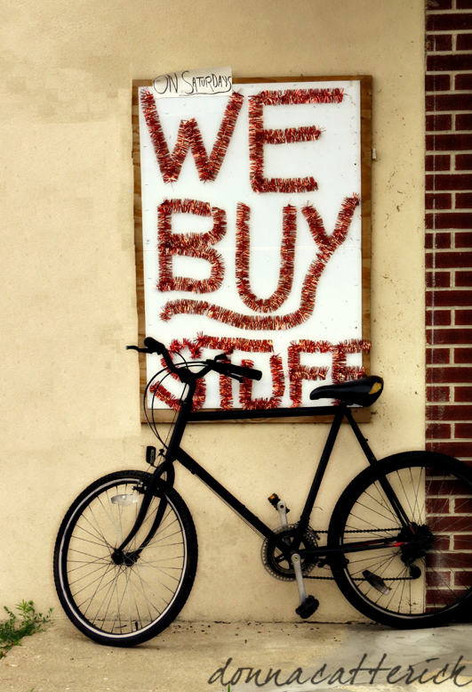 we buy stuff