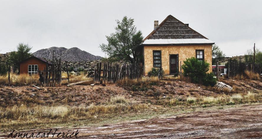 yellow stucco house always backroads