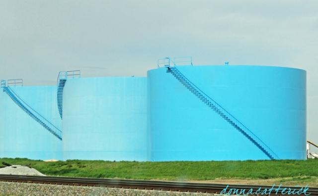 blue tanks NE