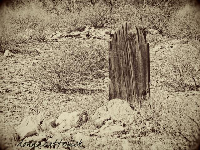 wood marker